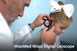 WiscMed Wispr Digital Otoscope