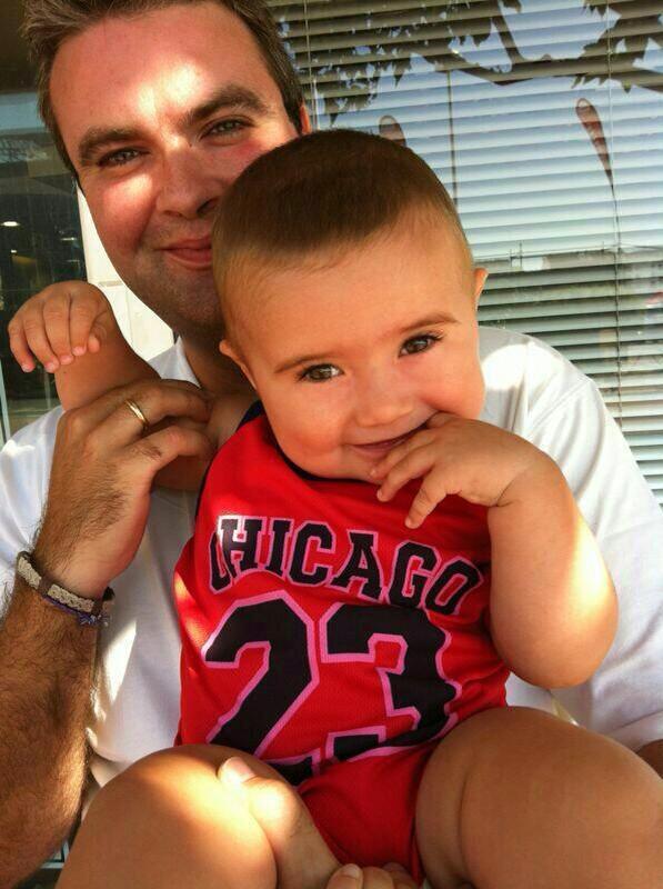 Fran y su hijo...como son dos...por eso han quedado primero y segundo, felicidades campeón