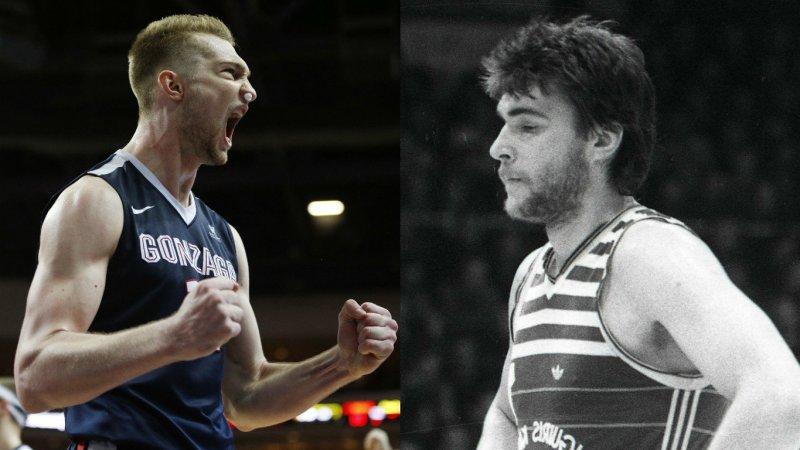 Fuente: www.15min.lt Domantas y Arvidas.padre e hijo, dos Sabonis, uno es leyenda del basket, el otro ya ha llegado a la NBA