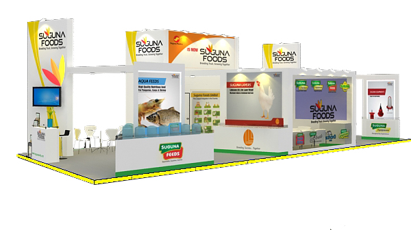 suguna food design @ poultry india 2012 HITEX