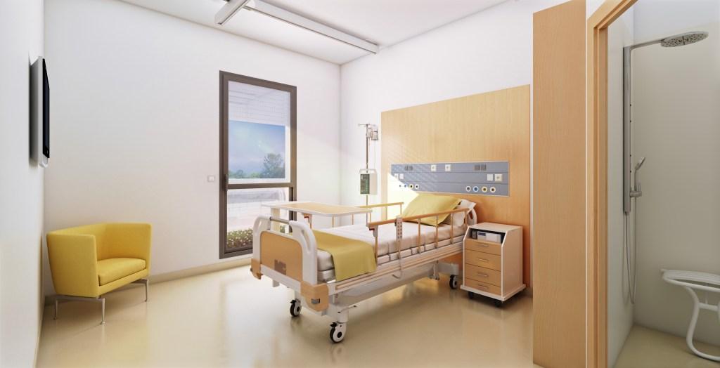 Concours Hôpital Sainte foy la grande - ARCHITECTE : Action Archi | Arnaud Architectes Associés