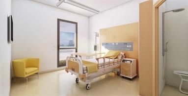 Concours Hôpital Sainte foy la grande - ARCHITECTE : Action Archi   Arnaud Architectes Associés