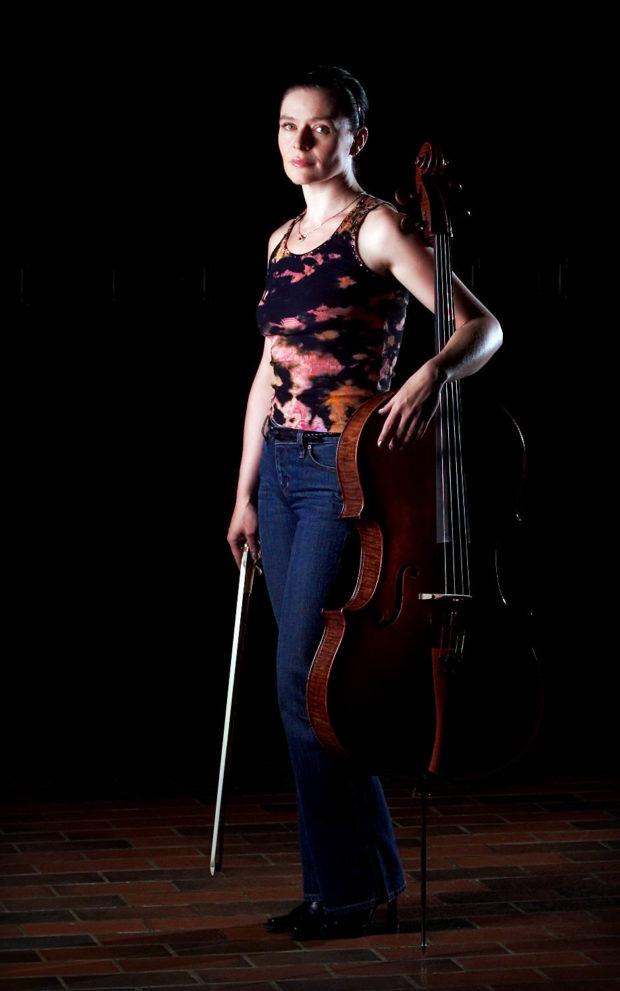 Cellist Shauna Rolston photo