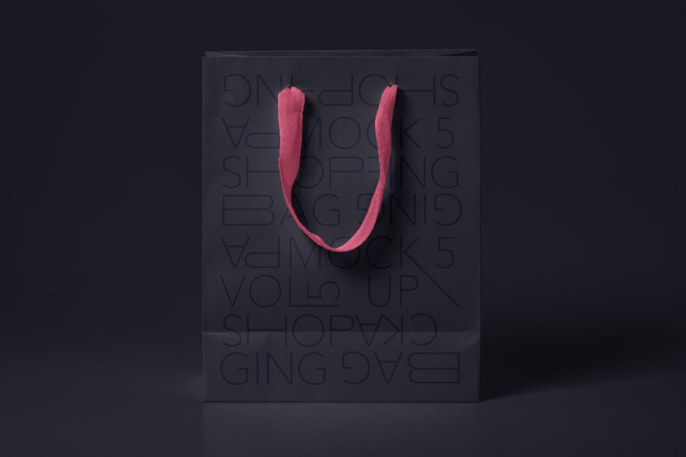 Psd Shopping Bag Mockup Vol 5