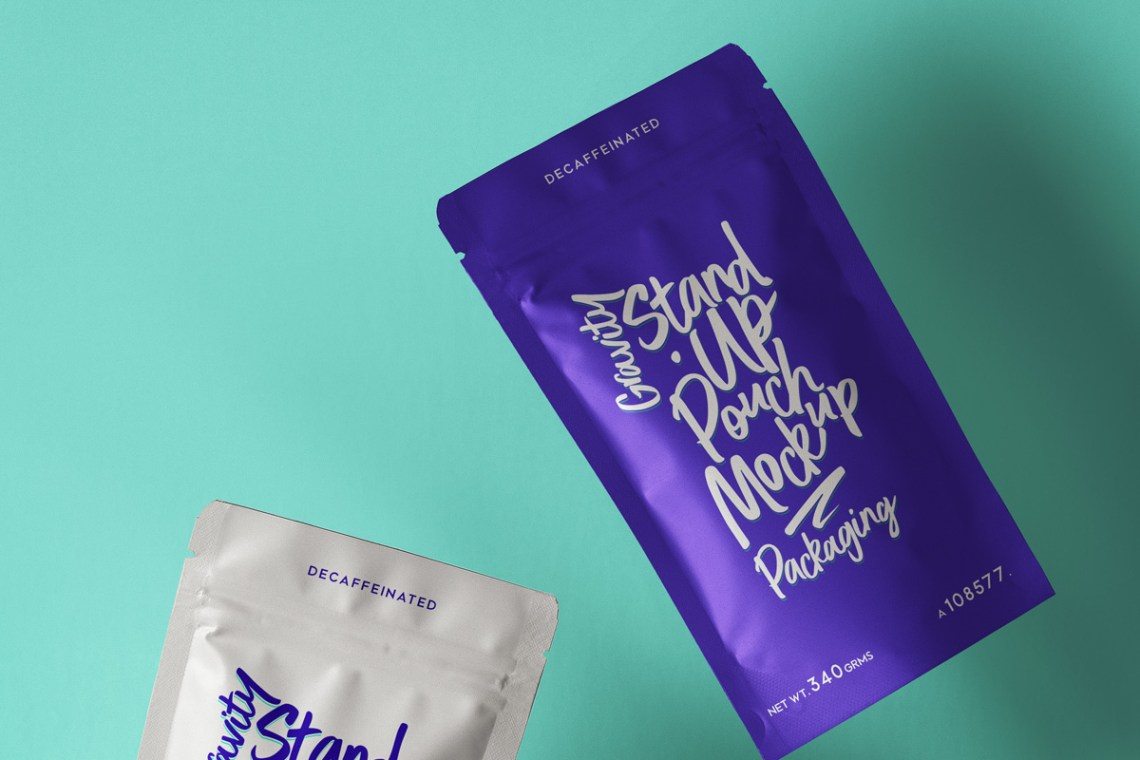 Download Free Mockups Foil Pouch Packaging Mockup Free Download Psd