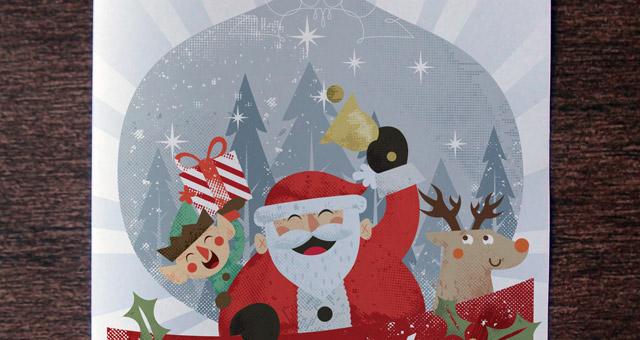 Christmas Card Invitation Template Flyer Templates Pixeden