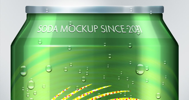 Psd Soda Can Mock Up Template Psd Mock Up Templates