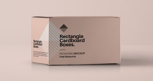 Download Rectangular Psd Box Mockup | Psd Mock Up Templates | Pixeden