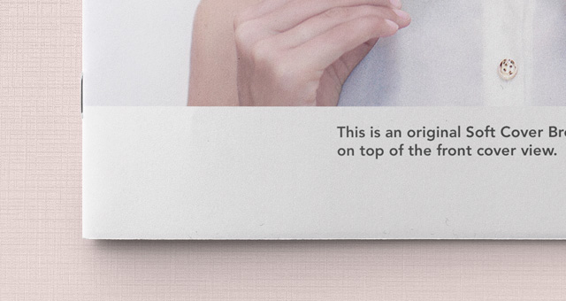 In the kit, you get a collection of ten different psd files, making sure you present your fresh new book in all sorts of different angles and views. A4 Landscape Psd Brochure Mockup Psd Mock Up Templates Pixeden