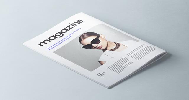 A4 Psd Magazine Booklet Mockup Vol2 Psd Mock Up Templates Pixeden