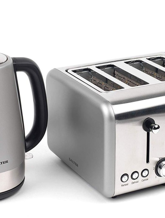 Updating Our Breakfast Routine With the Salter Polaris Kettle & Toaster Set