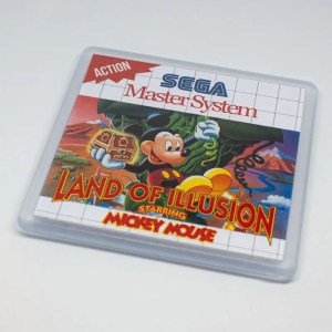 Land of illusion coaster