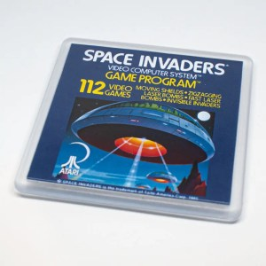 Space invaders coaster