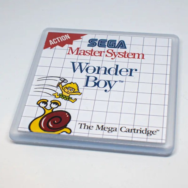 Wonder Boy Coaster
