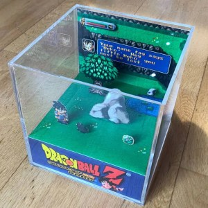 Dragon Ball Z Cube Diorama