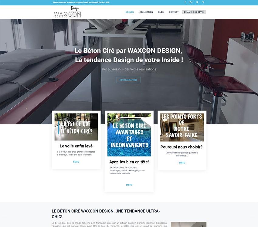 Site Internet wordpress + développement spécifique
