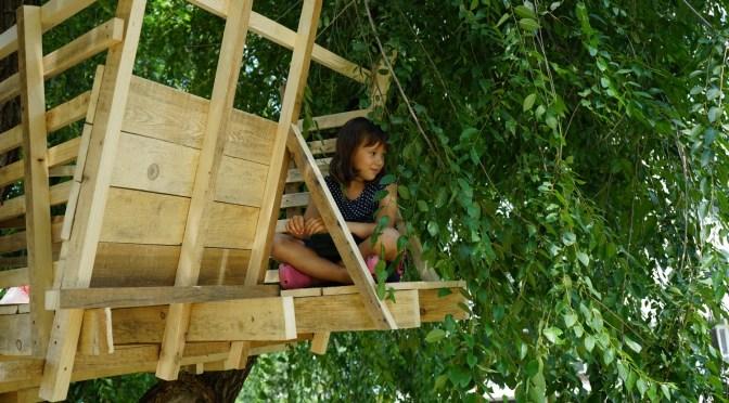 Camp d'été d'architecture, d'installations et paysage. Chisinau (Rep de Moldavie)