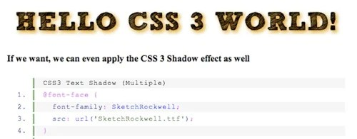 18font in CSS3 Exciting Functions and Features: 30+ Useful Tutorials