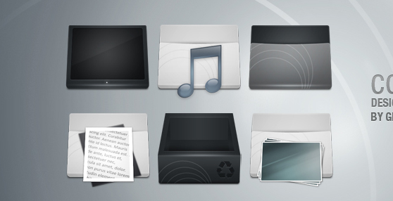 Concave Icons