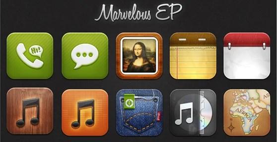 Marvelous EP icons
