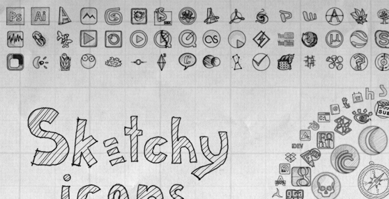 Sketchy Full Icons