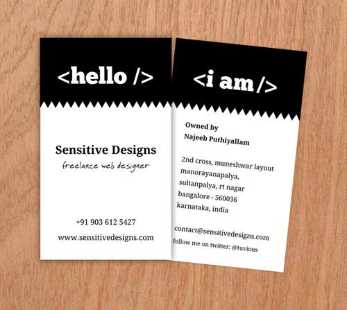 Delightful Business Card