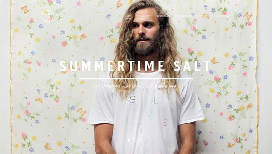 Photo background example: SALT SURF