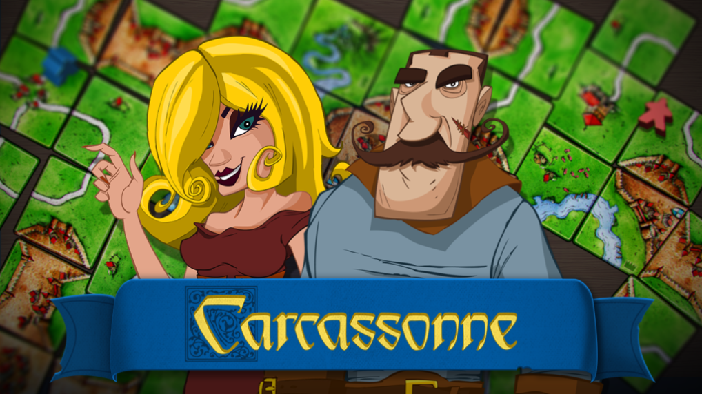 Carcassonne Review Pixelated Cardboard