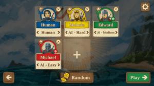 EME - game setup