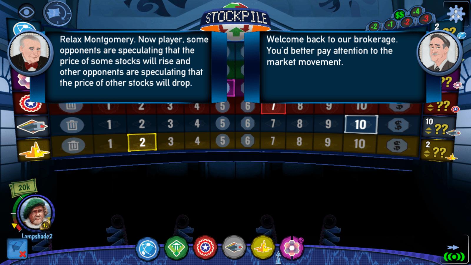 stockpile - tutorial