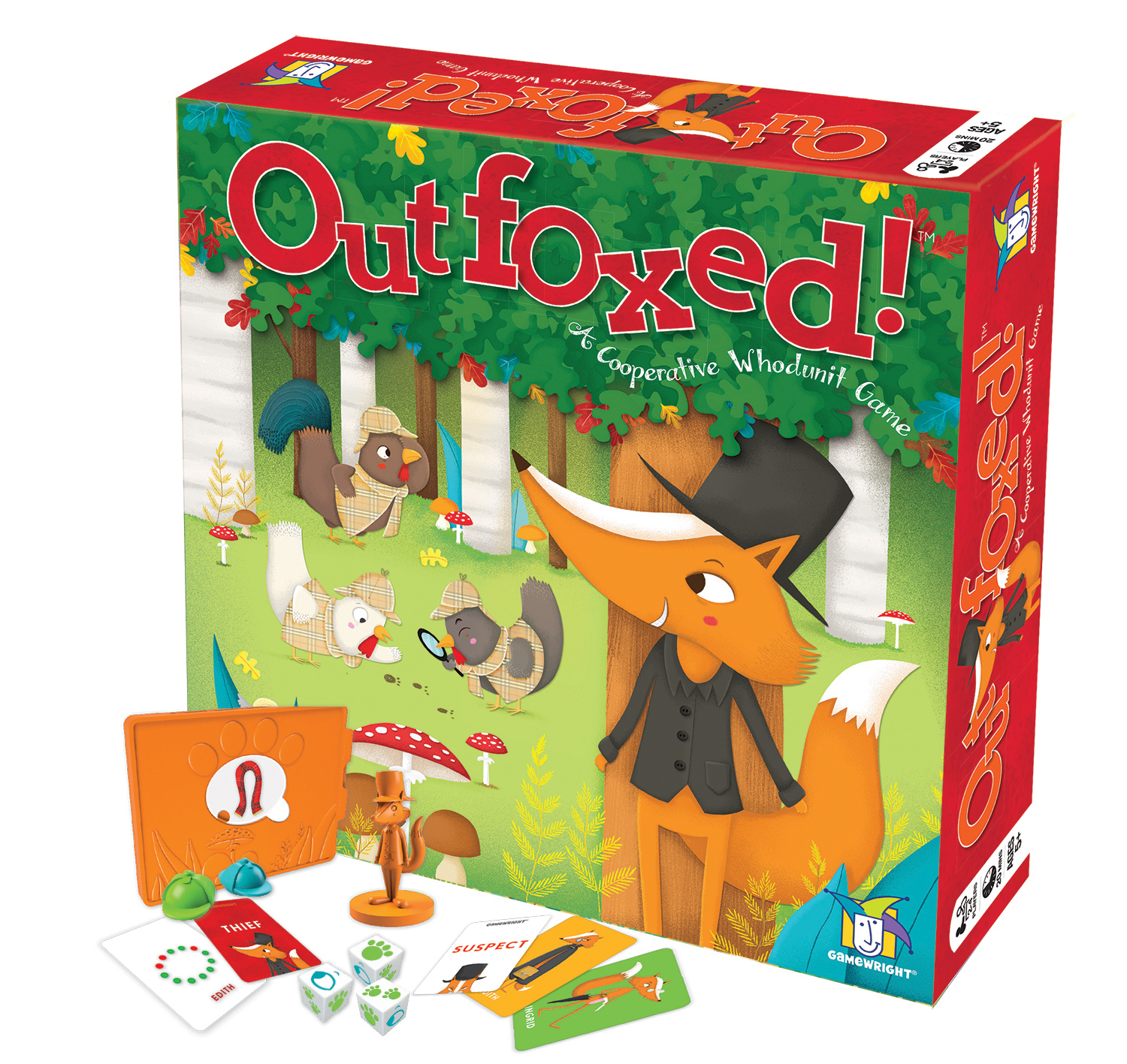 outfoxed - game
