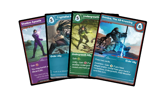 shards of infinity - cards