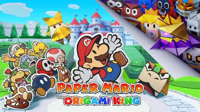 paper mario - banner