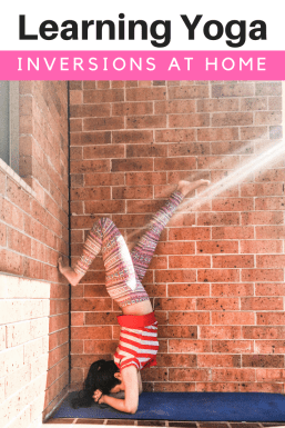 Simple tips to learn Yoga Inversions at home