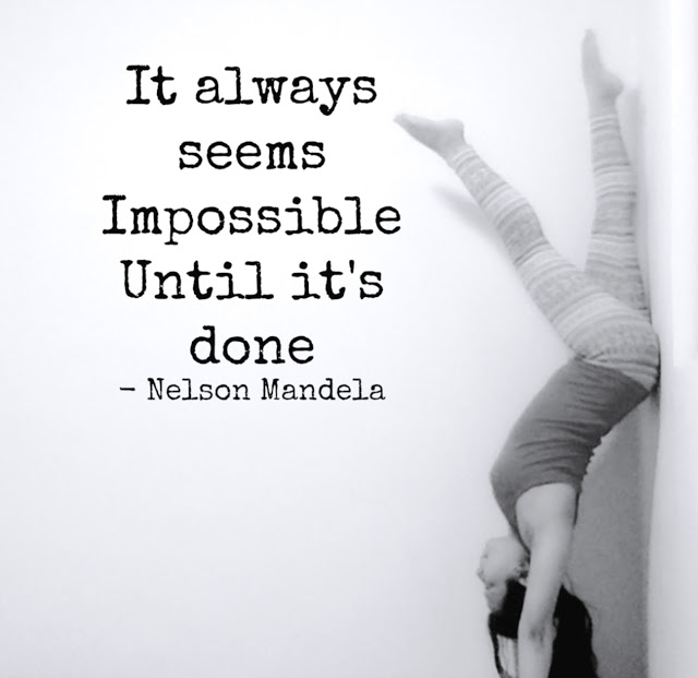 handstand quotes - yoga handstands - strong