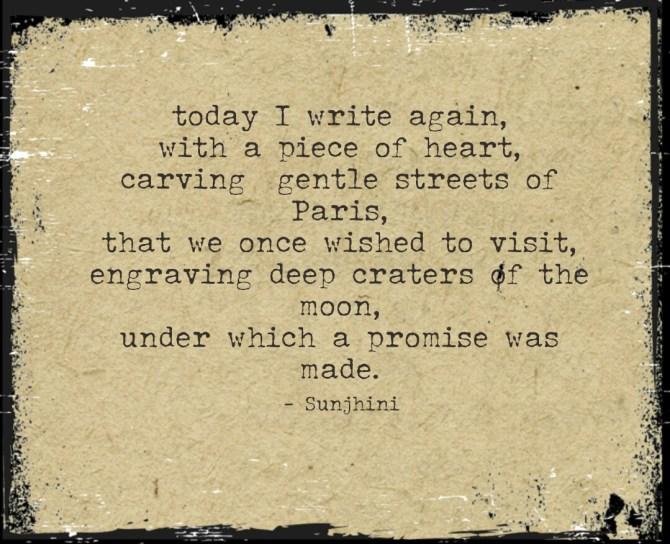 writing short poems