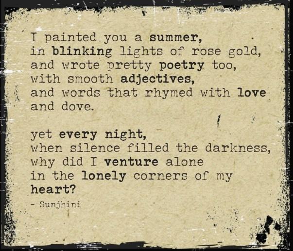 sad short poems