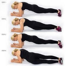 plank hip twists