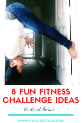 fun fitness challenge ideas to do at home