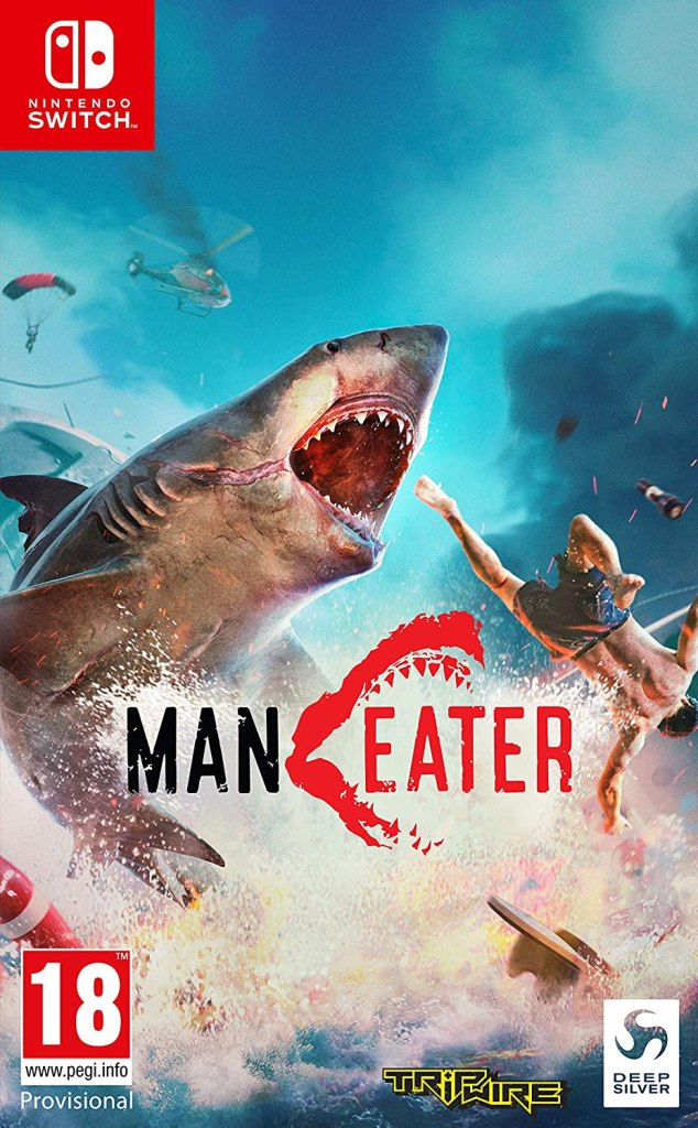 Maneater boxart switch
