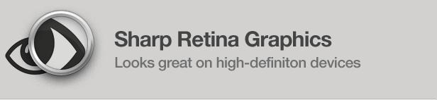 Sharp Retina Graphics