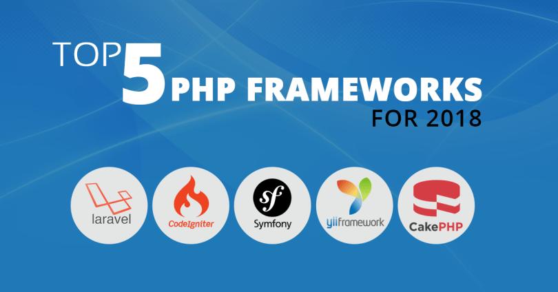 Top 5 PHP Frameworks