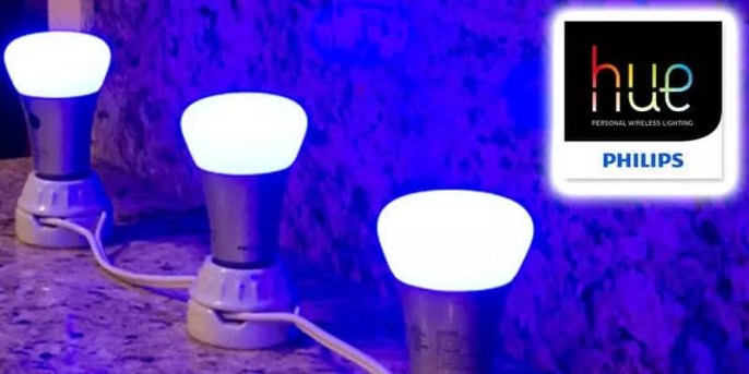 Digital Transformation at the consumer level with Philips Hue Bulbs