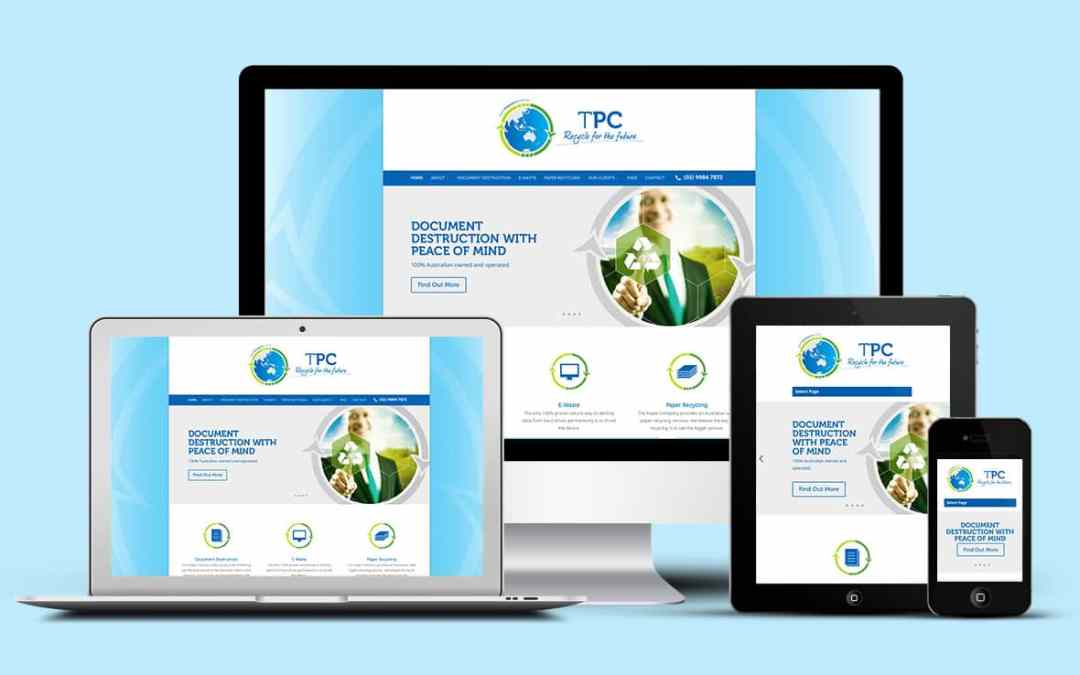 Fresh new website for The Paper Company