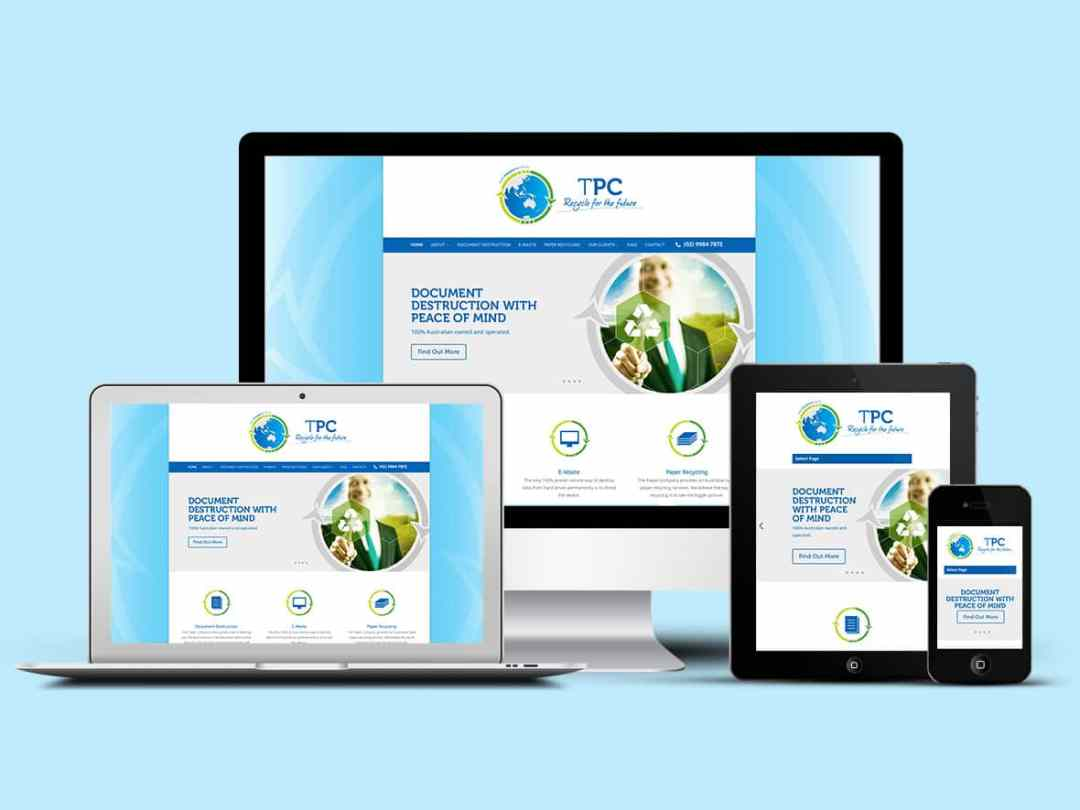 Northern Beaches Web Design client