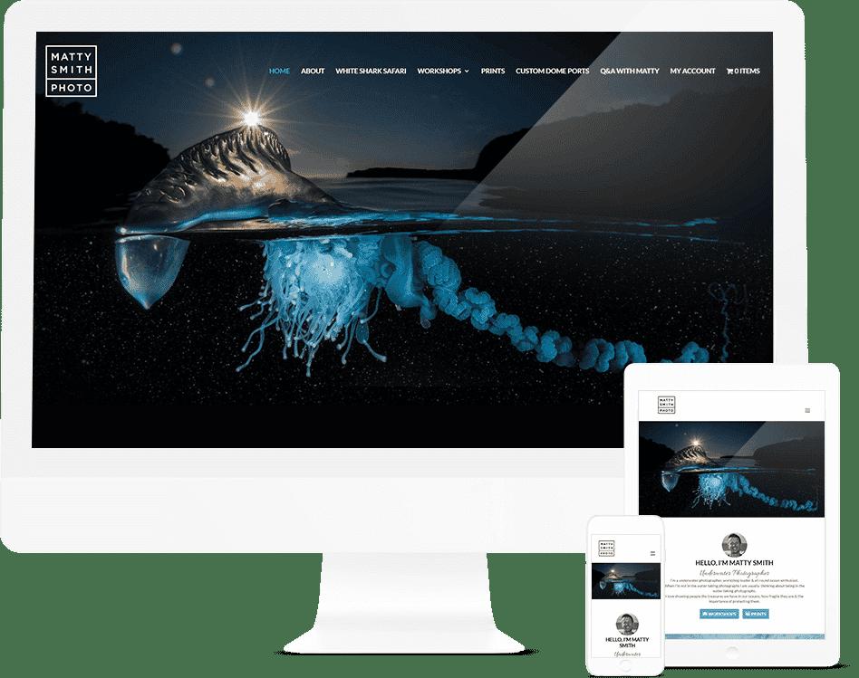 Pixel Fish - Matty Smith- Sydney Website Design Client