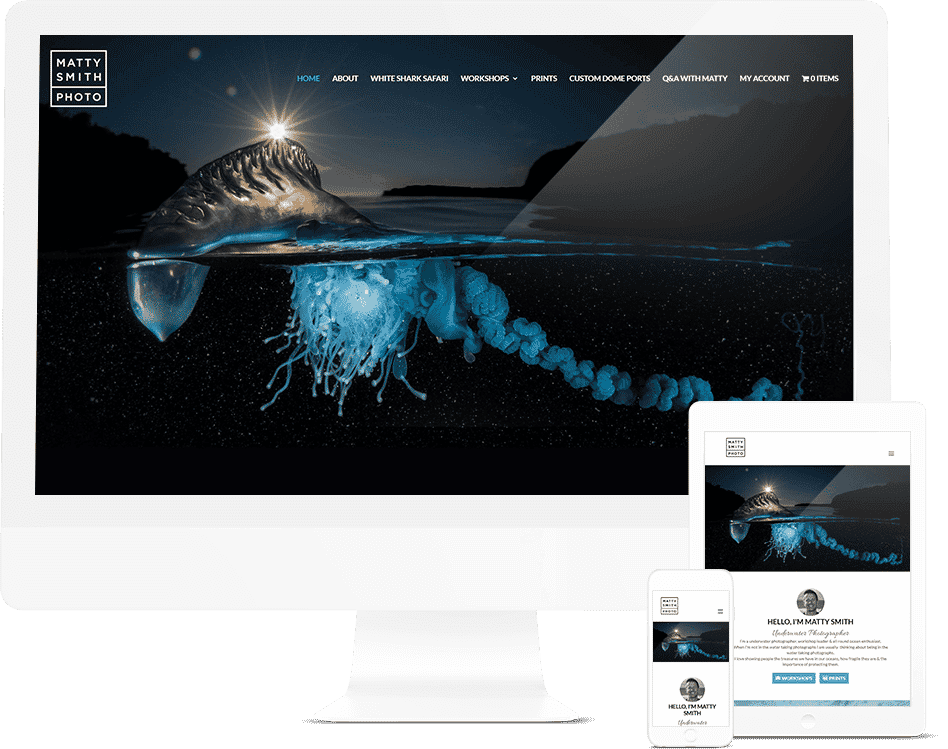 Pixel Fish - Matty Smith- Sydney Website Design Client