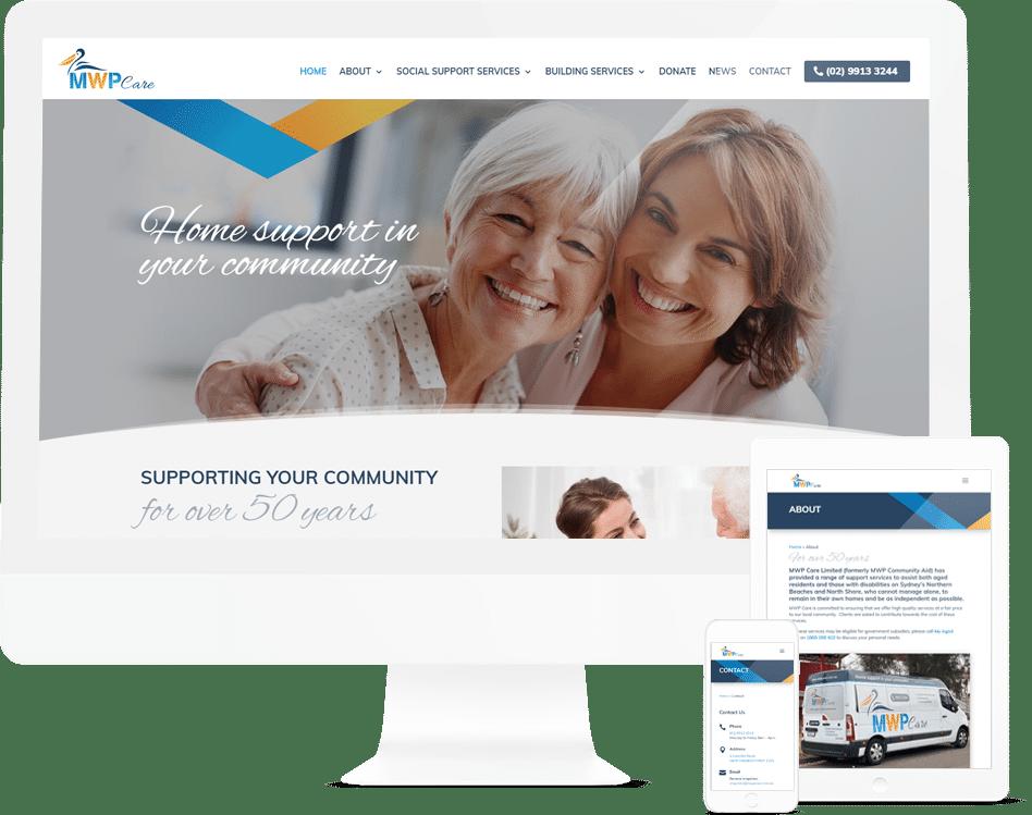 Aged Care Website Design
