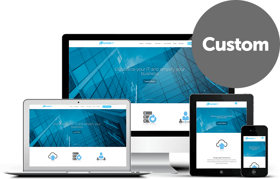 Custom Web Design Solution