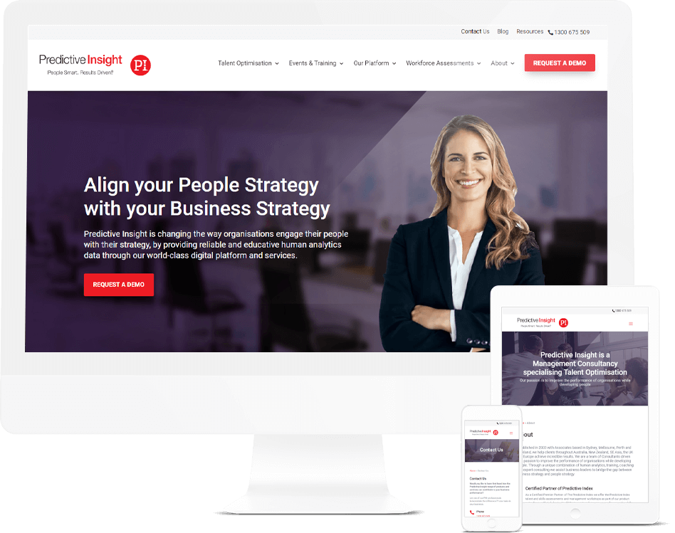 HR Website Design